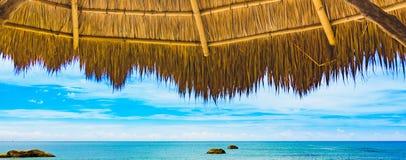 Остатки пляжа моря стоковые изображения rf