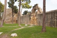 Остатки римской империи Стоковые Изображения
