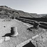Остатки синагоги в Израиле стоковое фото rf