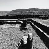 Остатки синагоги в Израиле стоковое изображение rf
