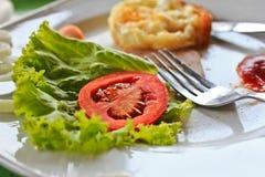 остаток завтрака стоковые изображения rf