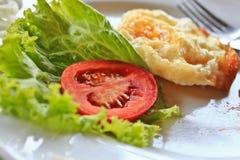 остаток завтрака стоковая фотография rf