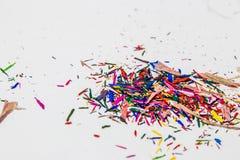 Остаток карандаша цвета Стоковая Фотография RF