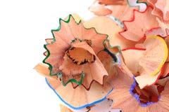 остальнои crayons цвета Стоковое Изображение