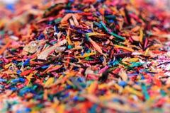 остальнои crayons цвета Стоковое Изображение RF
