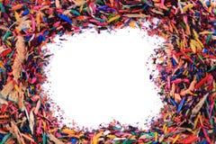остальнои crayons цвета Стоковое Фото