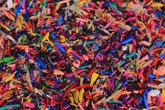 остальнои crayons цвета Стоковые Фотографии RF