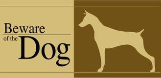 Остерегитесь собаки Стоковая Фотография RF