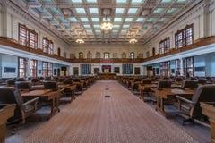 Остин, TX/USA - около февраль 2016: Камера Палаты Представителей в капитолии положения Техаса в Остине, TX стоковая фотография