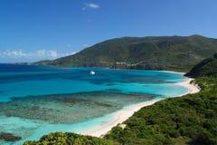 острова бухточки приглашая виргинские Стоковые Изображения RF