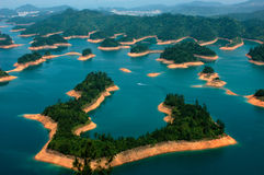 Острова в озере Стоковые Фотографии RF