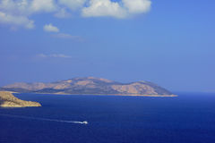 острова в Средиземном море Стоковые Изображения