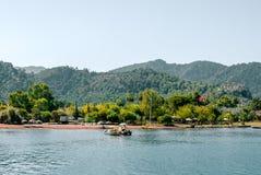 Острова в Эгейском море в Средиземном море Стоковые Фото