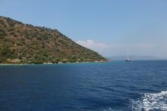Острова в Эгейском море, Турция, Marmaris Стоковое Изображение RF