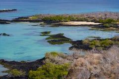 Острова Галапагос Ландшафт эквадор Стоковое Изображение RF