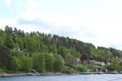 Острова горы стоковые фотографии rf