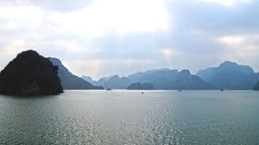 Острова залива Ha длинние Стоковое Изображение