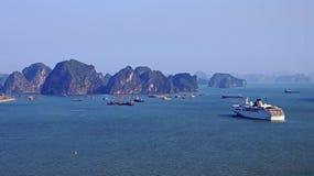 Острова залива Ha длинние Стоковое фото RF