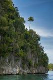 Острова известняка Ampat раджи, Индонезия Стоковое Изображение