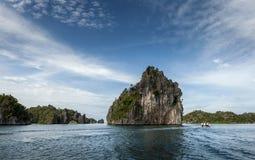 Острова известняка Ampat раджи, Индонезия Стоковые Фотографии RF