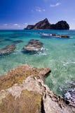 острова Мадейра острова baixo de ilheu Стоковое Фото