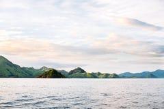 Острова национального парка Komodo в восточном Nusa Tenggara, Flores, Индонезии Стоковое Фото