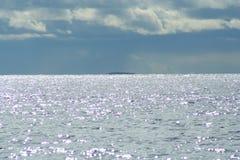 острова на горизонте, живая природа северная Стоковая Фотография