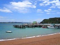 острова новый russell zealand залива стоковое изображение