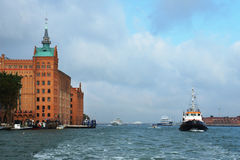 Острова доставки около Венеции Стоковое фото RF