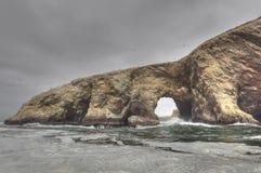 острова Перу ballestas Стоковая Фотография RF