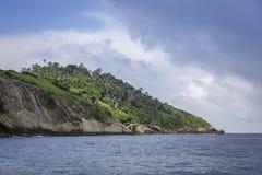 Острова Рио-де-Жанейро - Ilha das Palmas Стоковая Фотография RF