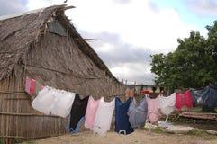 острова родная Панама san дома blas Стоковая Фотография