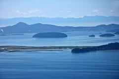 Острова Сан Жуан Seascape, WA Стоковая Фотография RF