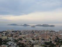 Острова с если замок стоковое изображение