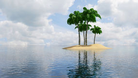 острова тропические Стоковые Изображения RF