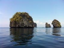 острова утесистые Стоковая Фотография RF
