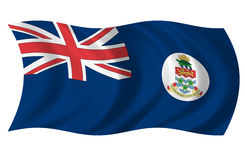 острова флага Кеймана Стоковое Изображение