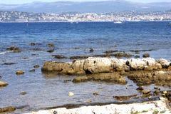 Острова Франция Lerins стоковые изображения rf