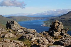 Острова Faro Стоковая Фотография RF
