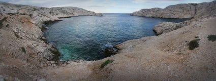 Острова Frioul, Франция Стоковое фото RF