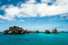 острова galapagos s дьявола кроны Стоковая Фотография RF