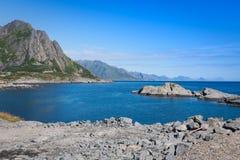 острова lofoten Норвегия стоковое фото rf