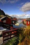 острова lofoten Норвегия Стоковое Изображение RF