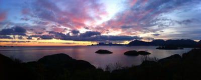 Острова Lofoten, Норвегия Стоковая Фотография RF