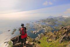 острова lofoten Норвегия Стоковая Фотография RF