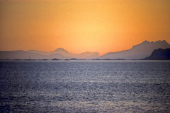 острова lofoten Норвегия Стоковое Фото