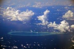 Острова Paracel Стоковое Изображение RF