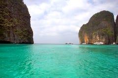 Острова Phi Phi - пляж - Таиланд Стоковое Изображение