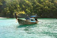 Острова Phi Phi - пляж - Таиланд Стоковые Фото