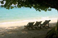 Острова Phi Phi - пляж - Таиланд Стоковые Изображения RF